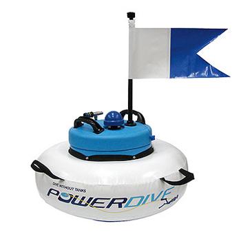 Powersnorkel powerdive - Floating dive compressor ...